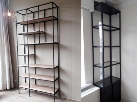 Kast Stalen Frame.Stalen Frame Kast Industrile Stalen Design Kast Past Bij Staal Look